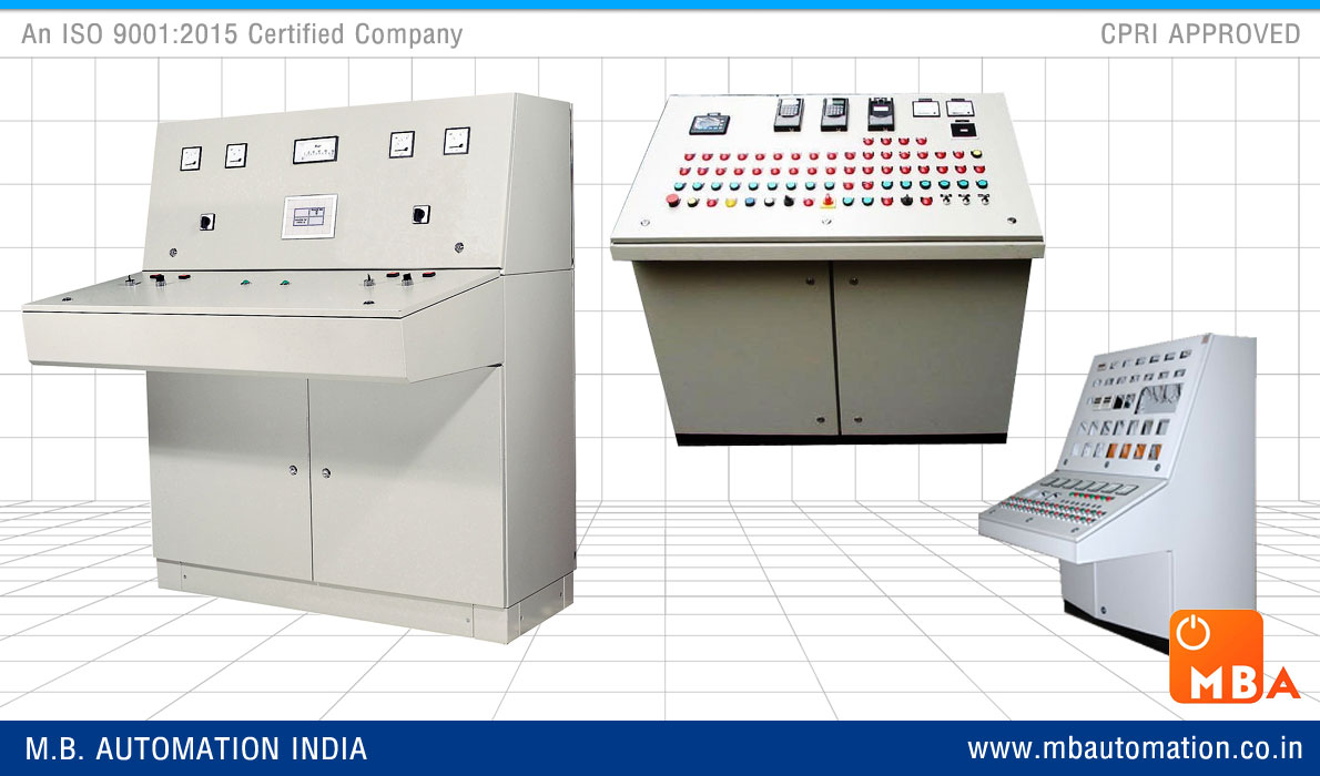 Control Desk electrical control desk panel manufacturers exporters india
